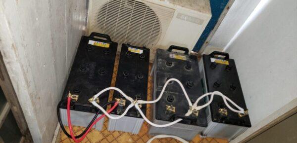 太陽光発電、大型バスのバッテリーを蓄電池として使用する