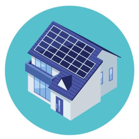 専門業者に依頼「太陽光発電と蓄電池」を設置した住宅