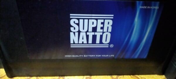 スーパーナット12V100Ahセミシールドバッテリー