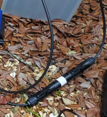 バッテリープラス側MC4インラインヒューズ設置