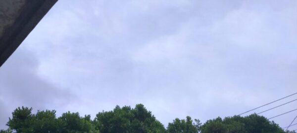 今日の天気曇り