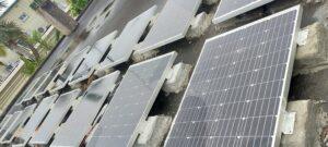 太陽光発電 ソーラーパネル18枚