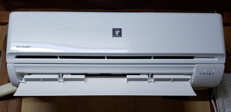 シャープ10畳用エアコン