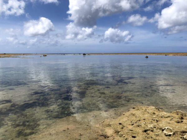 キレイな石垣島の海
