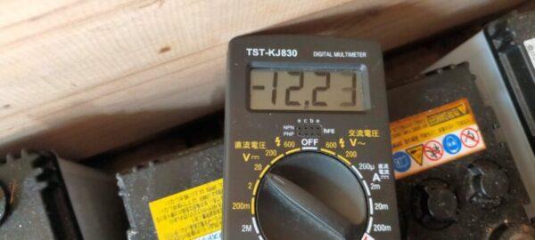 12.23V 40B19バッテリー