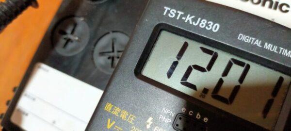 12.01 40B19バッテリー