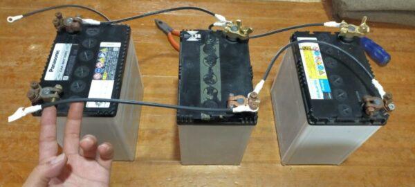 バッテリー並列接続2つ目