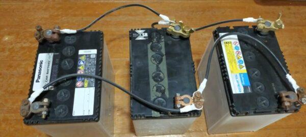 バッテリー並列接続3つ目(完成)