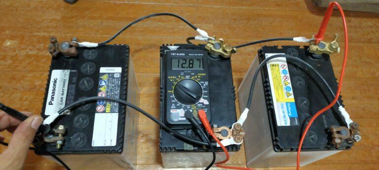 40B19バッテリー3台並列接続