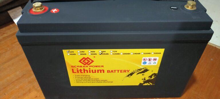 リン酸鉄リチウムイオンバッテリー12V100Ah