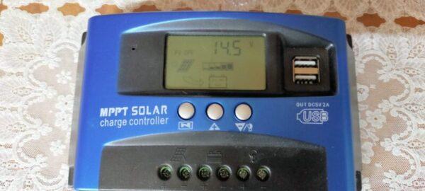 リチウムイオンバッテリーに対応していないチャージコントローラー充電設定はMAX14.5Vにする
