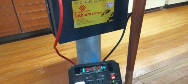 リン酸鉄リチウムイオンバッテリーを充電中!失敗したらバッテリーを開封する